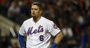 NEW YORK, NEW YORK - JUNE 04: Jeff McNeil #6 of the New York Mets reacts after striking out against the San Francisco Giants during the fifith inning at Citi Field on June 04, 2019 in New York City.