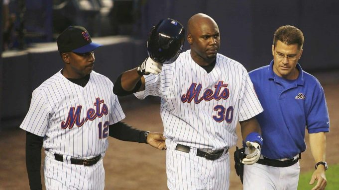 New York Mets Cliff Floyd