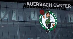BOSTON, MASSACHUSETTS - APRIL 28: The practice facility of the Boston Celtics is seen during the coronavirus (COVID-19) pandemic on April 28, 2020 in Boston, Massachusetts. The NBA recently announced the possible re-opening of team practice facilities as early as May 1.
