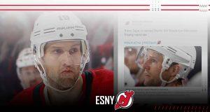 New Jersey Devils Travis Zajac