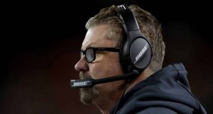 DENVER, COLORADO - DECEMBER 15: Head coach Gregg Williams of the Cleveland Browns works the sidelines while playing the Denver Broncos at Broncos Stadium at Mile High on December 15, 2018 in Denver, Colorado. New York Jets