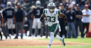 OAKLAND, CA - SEPTEMBER 17: Jamal Adams #33 of the New York Jets in action during their game against the Oakland Raiders at Oakland-Alameda County Coliseum on September 17, 2017 in Oakland, California.