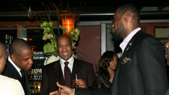 NEW ORLEANS - FEBRUARY 16: Jay-Z, William