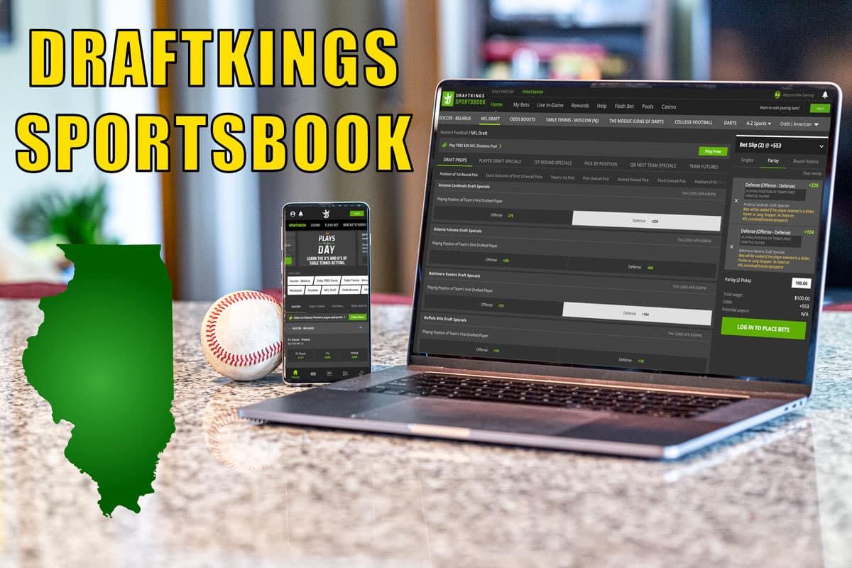 draftkings sportsbook illinois prelaunch