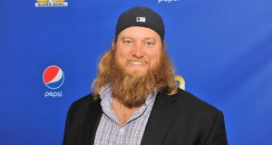 SAN FRANCISCO, CA - FEBRUARY 05: New York Jets center Nick Mangold walks the Blue Carpet at the 2015 Pepsi Rookie of the Year Award Ceremony at Pepsi Super Friday Night at Pier 70 on February 5, 2016 in San Francisco, California.