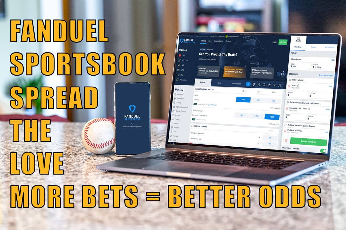 fanduel sportsbook spread the love nba