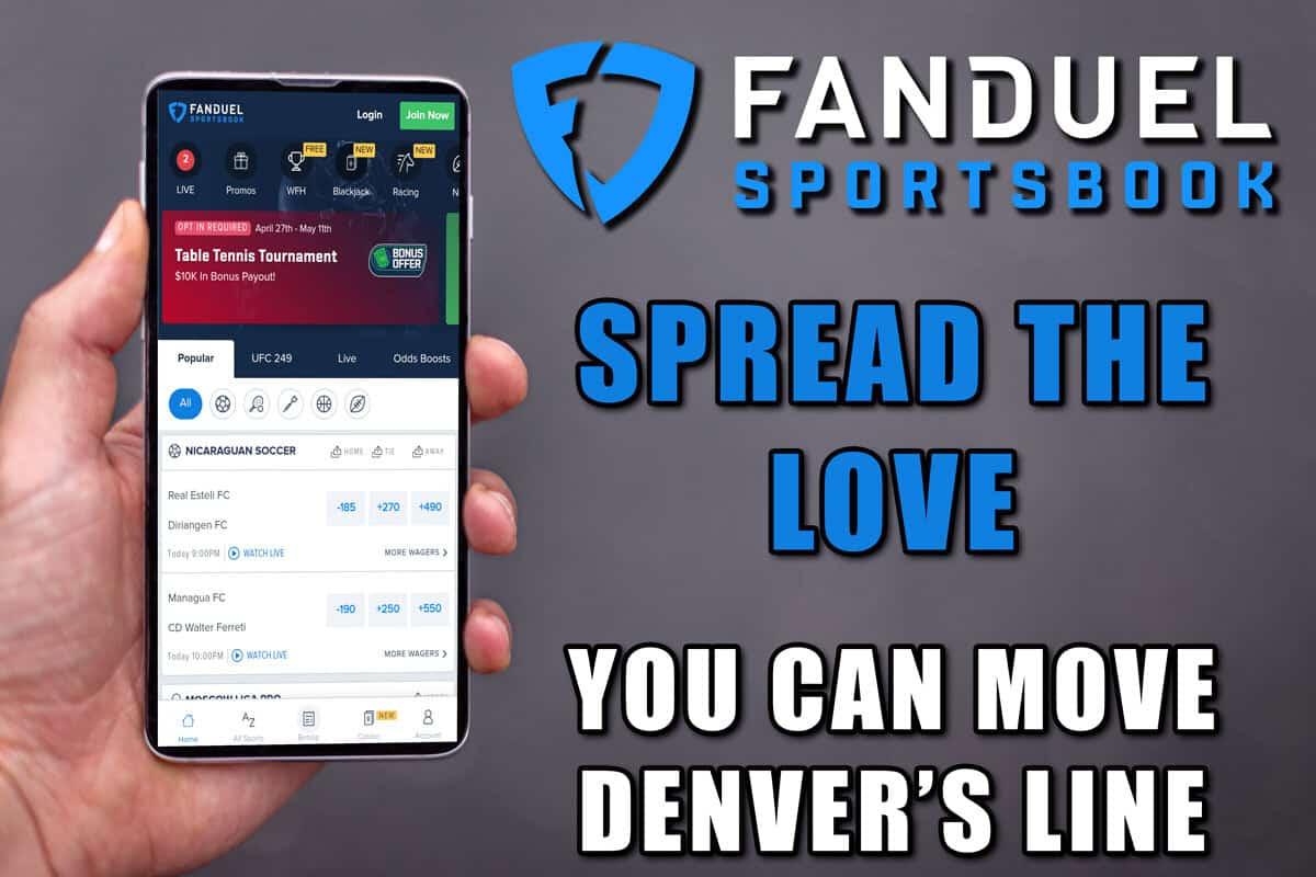 FanDuel Sportsbook Colorado Spread the Love