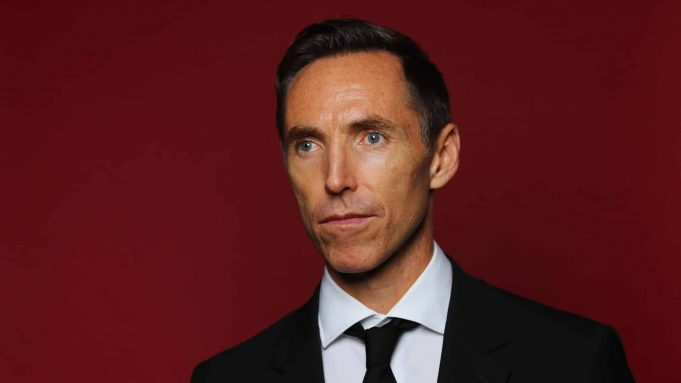 SPRINGFIELD, MA - SEPTEMBER 07: Steve Nash poses for a portrait at the Naismith Memorial Basketball Hall of Fame on September 7, 2018 in Springfield, Massachusetts.