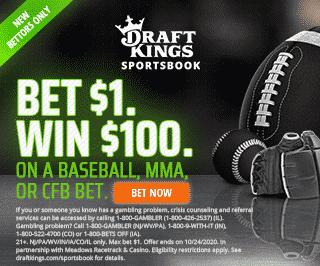 draftkings sportsbook 100-1 world series odds