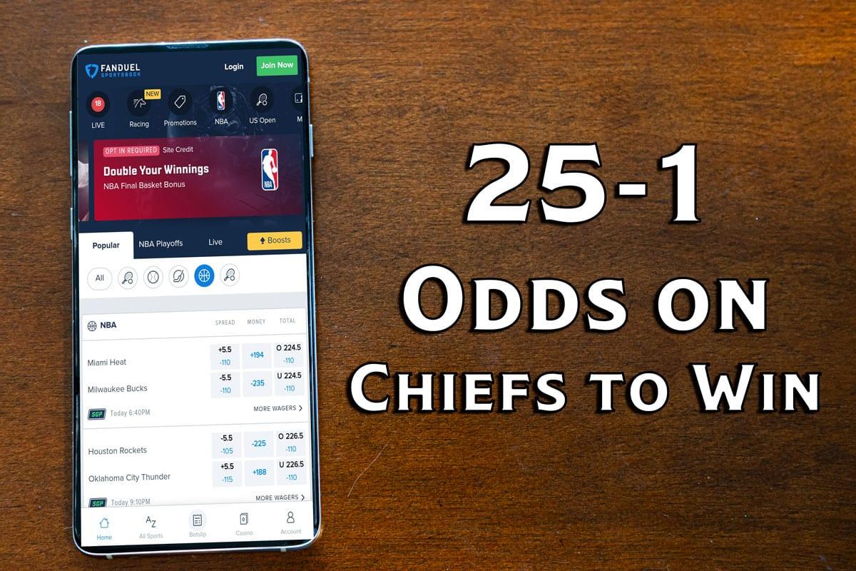 FanDuel Sportsbook Chiefs-Bills Odds Offer