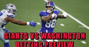 Giants vs. Washington Odds