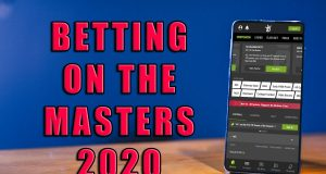 how to bet masters online