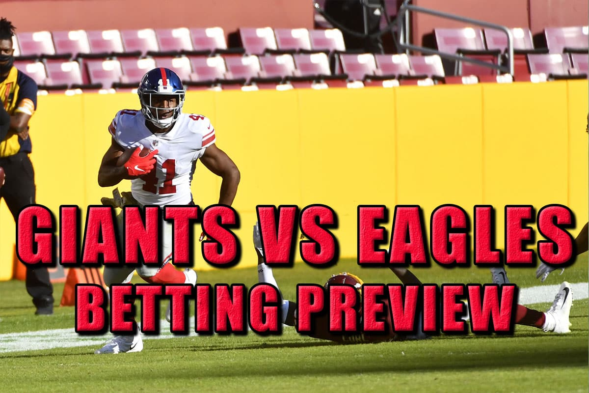 Giants eagles betting line totesport mobile betting service