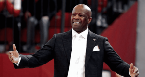 NEW YORK, NEW YORK - MARCH 01: Head Coach Mike Anderson of the St. John's Red Storm reacts against the Creighton Bluejays at Carnesecca Arena on March 01, 2020 in New York City.