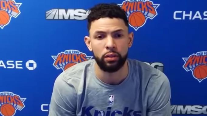 New York Knicks Austin Rivers