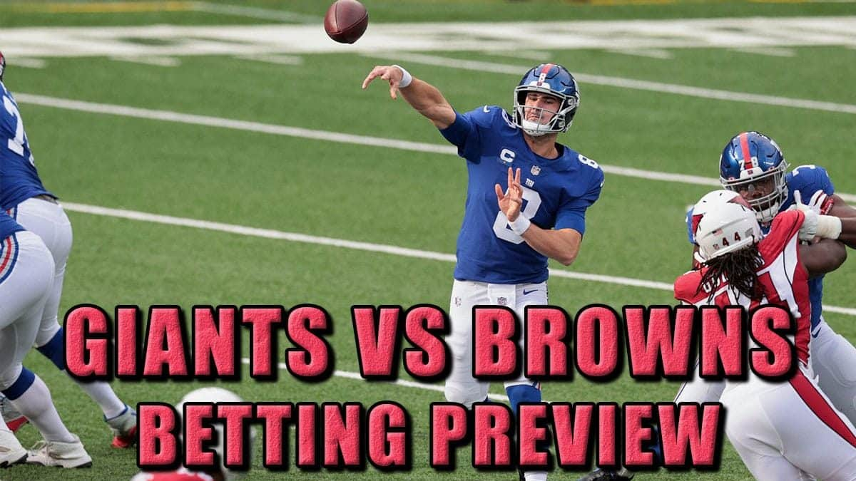 giants browns pick prediction odds