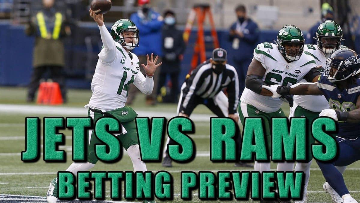 jets rams pick prediction odds