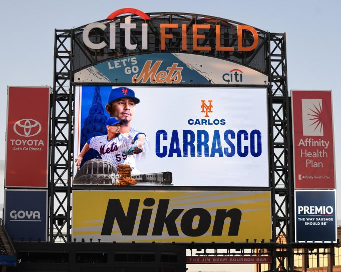 New York Mets Carlos Carrasco