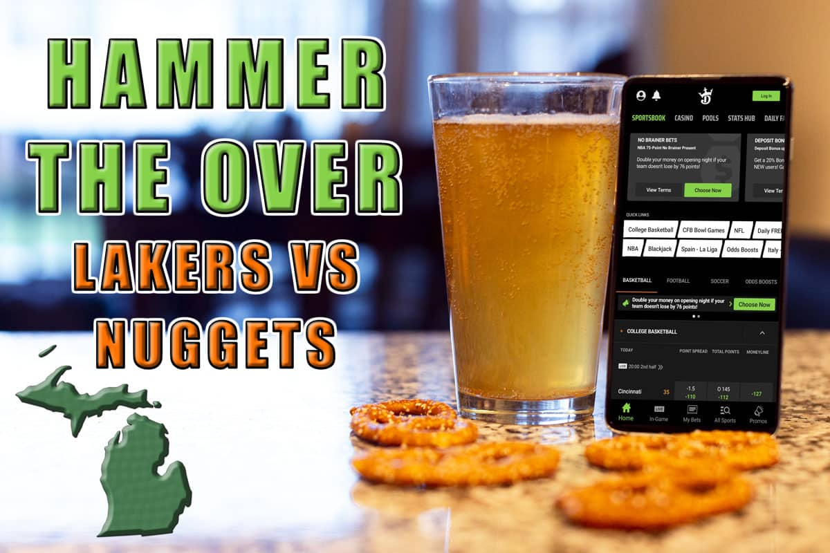 draftkings michigan hammer the over