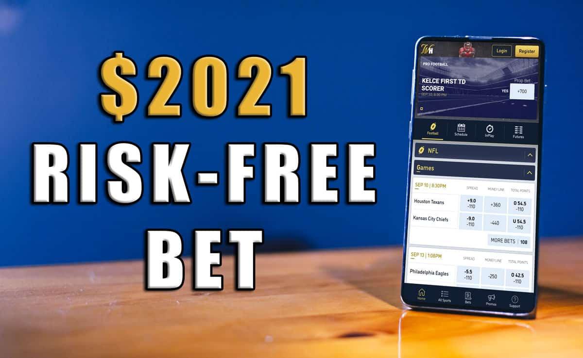 William Hill $2,021 risk-free