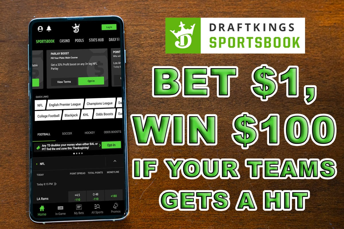 draftkings sportsbook opening day promo