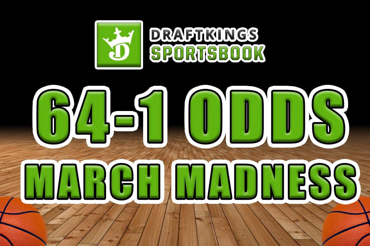draftkings sportsbook 64-1 odds