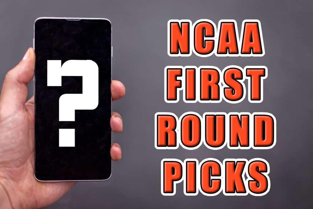 ncaa first round picks