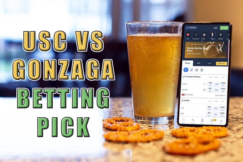 usc gonzaga usc betting pick