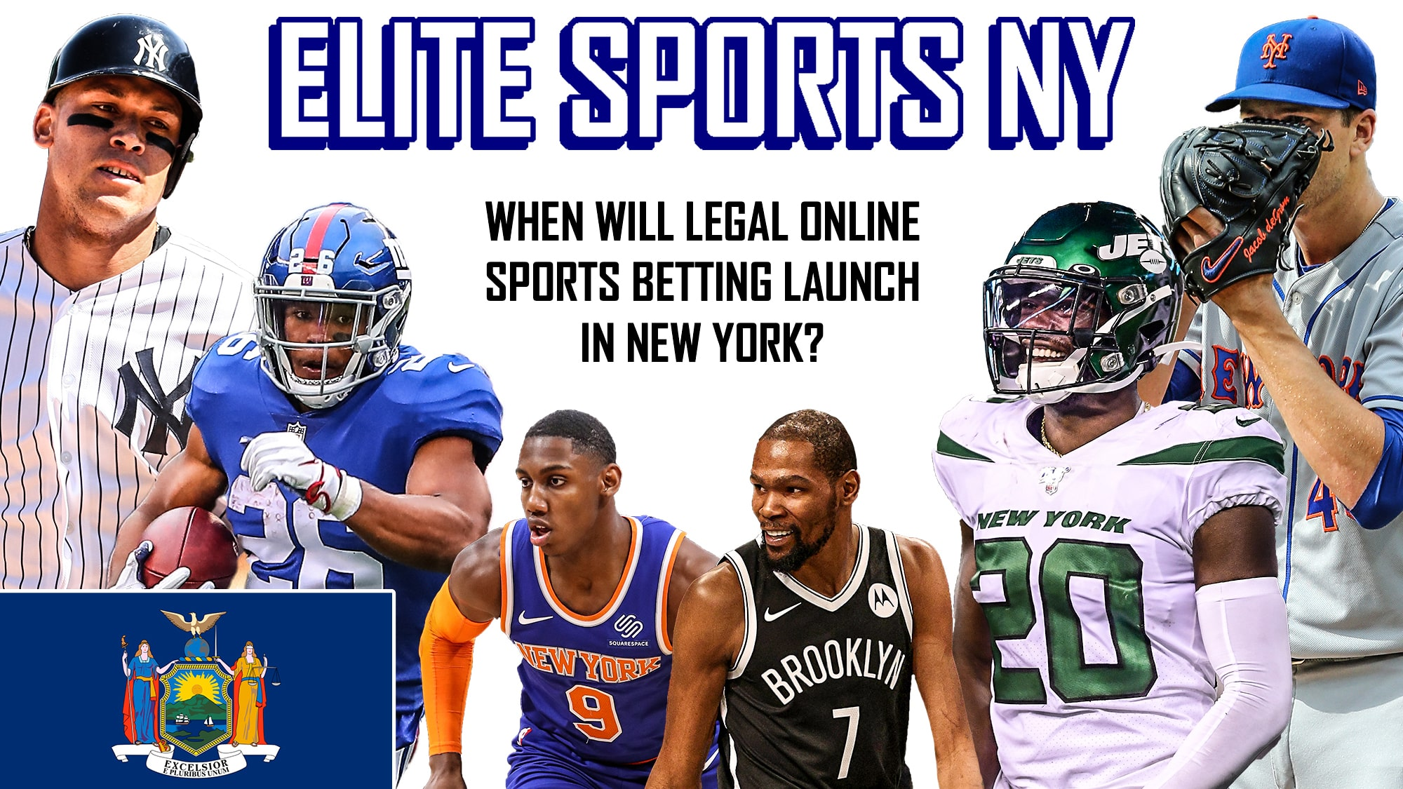 When will legal online sports betting launch in New York?