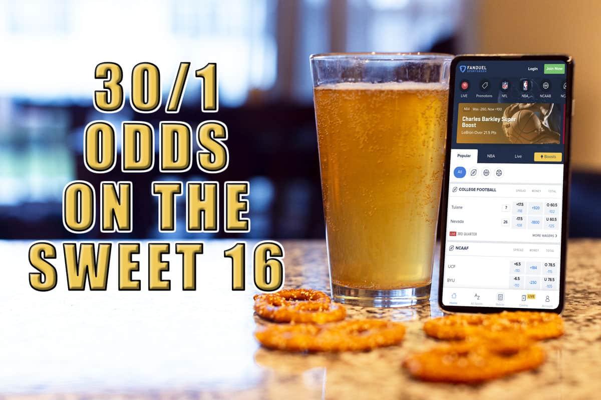 fanduel sportsbook 30-1 odds promo