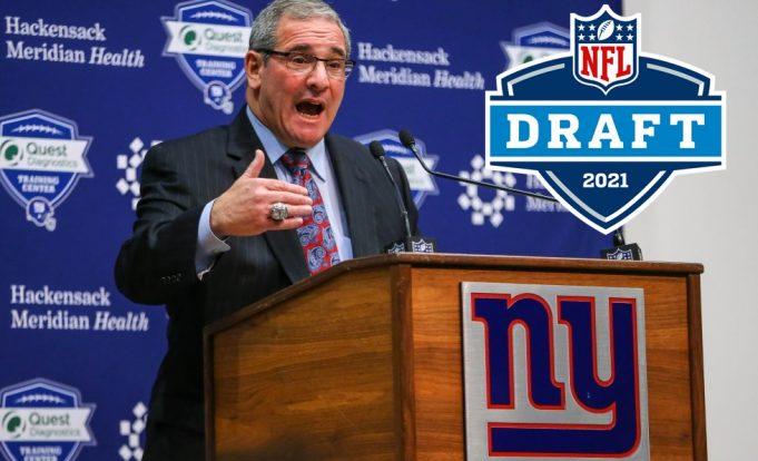 2021 nfl draft giants mock