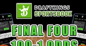draftkings sportsbook bet $1, win $100 final four
