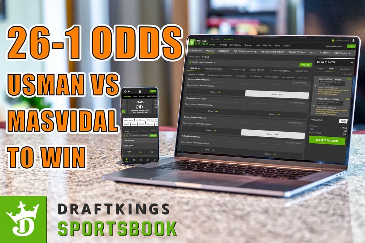 draftkings sportsbook ufc 261