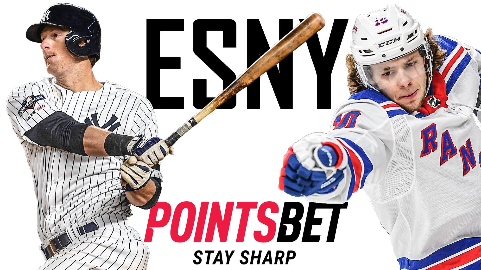 ESNY, PointsBet, DJ LeMahieu, Artemi Panarin