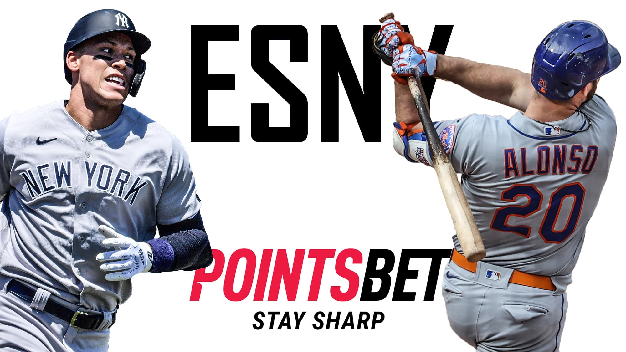 ESNY, PointsBet Sportsbook, MLB Futures, Aaron Judge, Pete Alonso