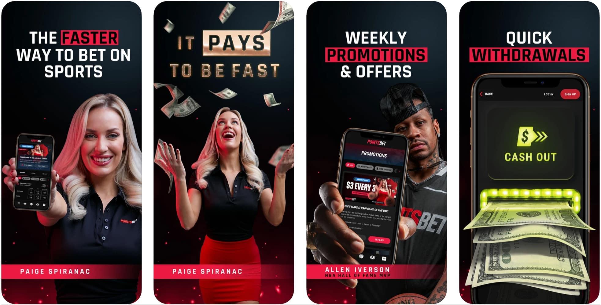 ESNY, PointsBet Sportsbook, Mobile App