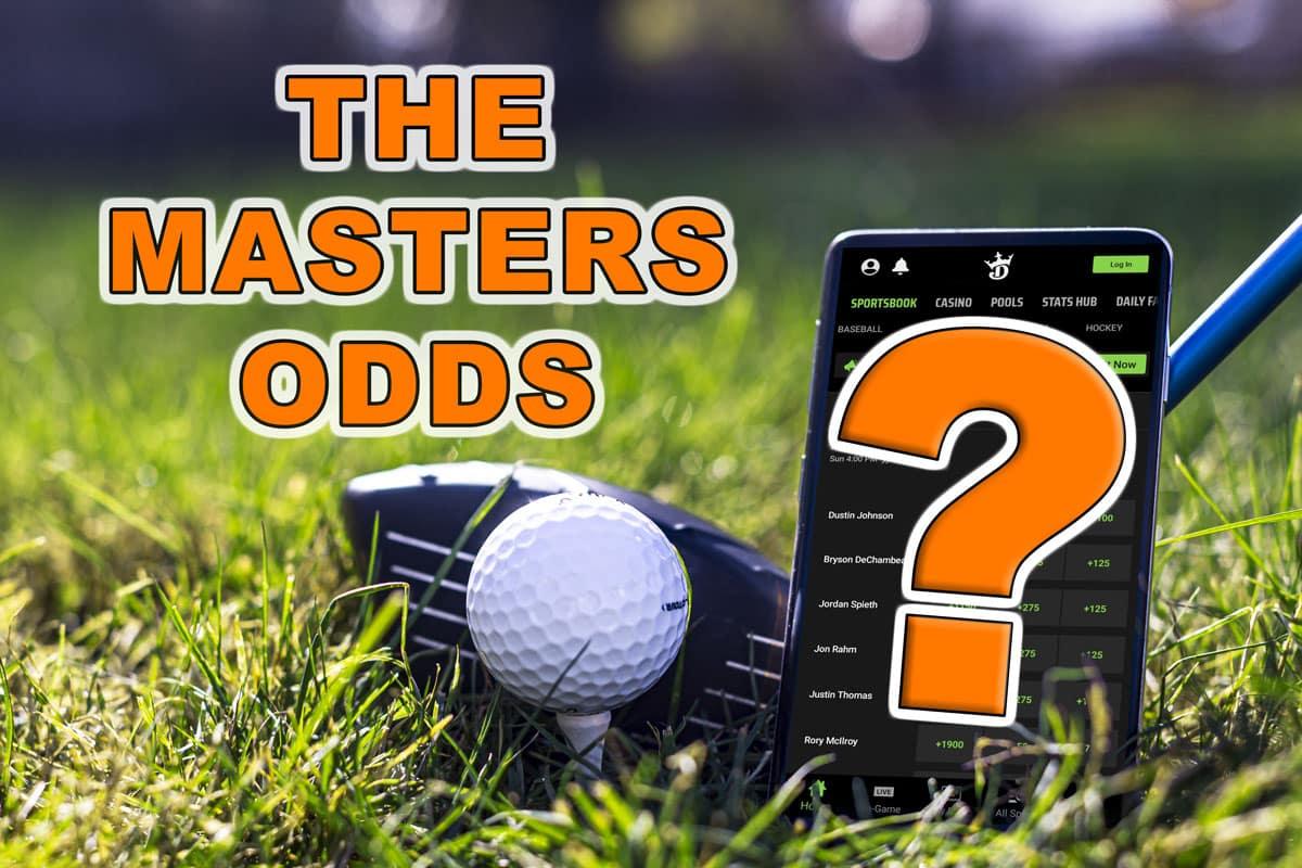 masters odds weekend