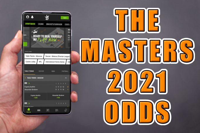 sunday masters odds