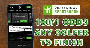 draftkings sportsbook masters promo 100-1 odds
