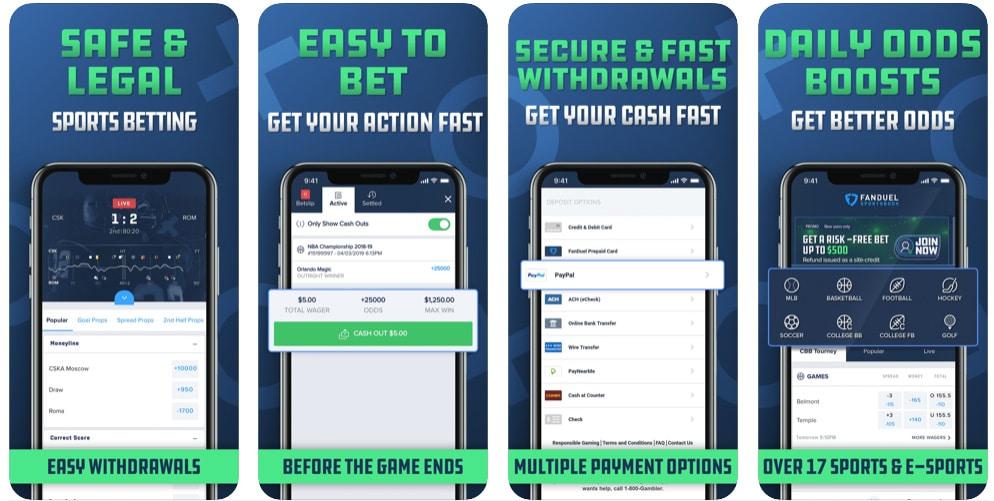 ESNY, FanDuel Sportsbook, Mobile App