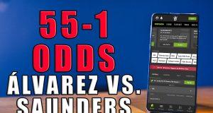 draftkings sportsbook alvarez 55-1