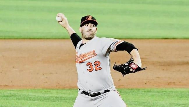 Matt Harvey Orioles