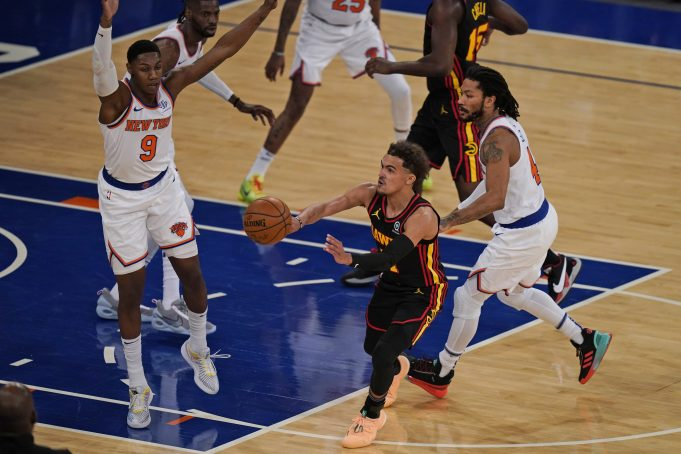 trae young knicks