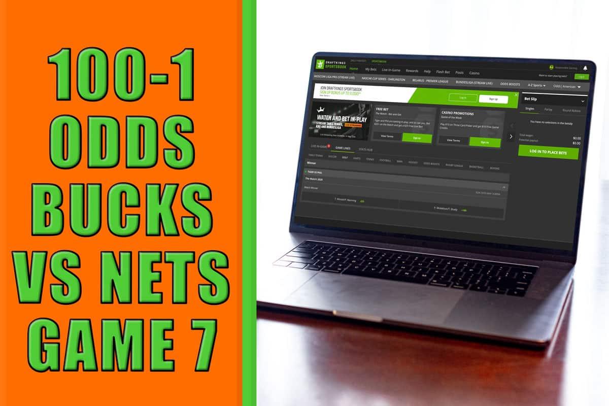 draftkings sportsbook bucks nets promo