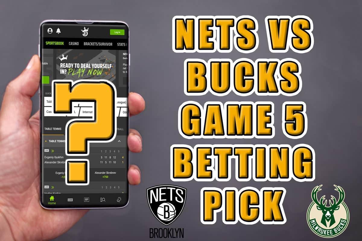 bucks nets game 5 pick