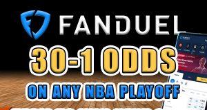 fanduel sportsbook nba promo 30-1 odds