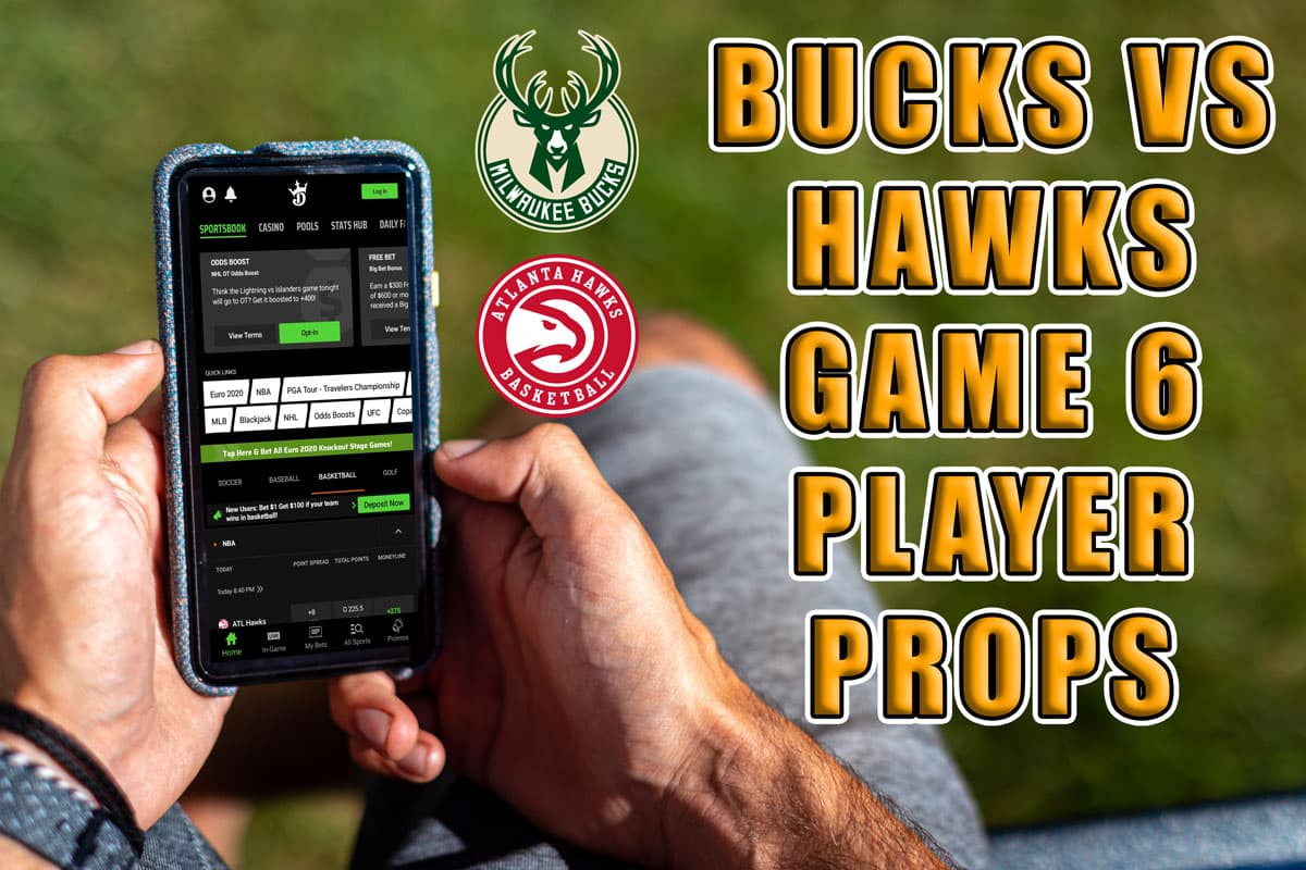 bucks hawks player prop picks