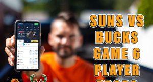 suns bucks prop bets