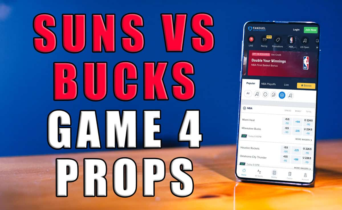 suns bucks player props game 4
