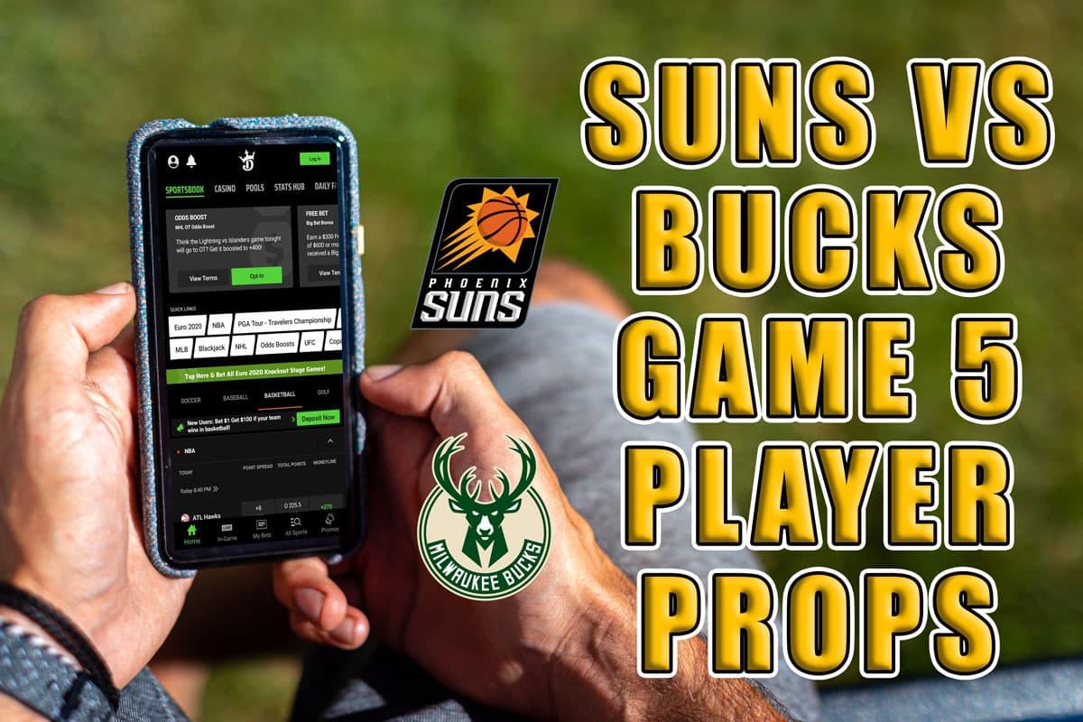 Suns vs. Bucks Game 5 Props: Chris Paul Bounces Back